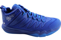 CHRIS PAUL Autographed Blue Jordan CP3.IX Shoe STEINER