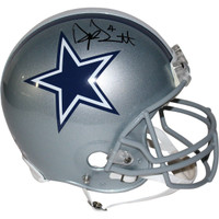 DAK PRESCOTT Autographed Dallas Cowboys Authentic Helmet STEINER