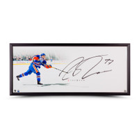 "CONNOR MCDAVID Autographed & Framed ""The Show"" 46 x 20 UDA"