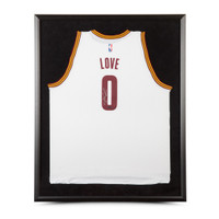 KEVIN LOVE Autographed & Framed Cleveland Cavaliers Swingman White Jersey UDA