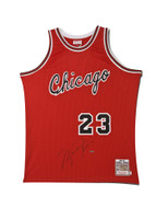 MICHAEL JORDAN Signed Chicago Bulls Rookie Jersey UDA