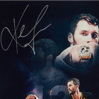 "KEVIN LOVE Autographed ""Ring Night"" 16 x 20 UDA LE 50"