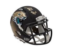ALLEN ROBINSON Signed Jacksonvill Jaguars Riddell Mini Helmet UDA