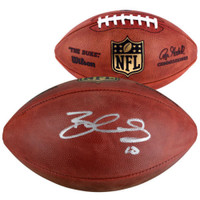 BRANDIN COOKS New England Patriots Autographed Authentic NFL Football FANATICS