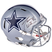 JASON WITTEN Autographed Dallas Cowboys Authentic Speed Helmet FANATICS