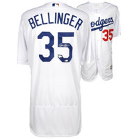 CODY BELLINGER Autographed Los Angeles Dodgers Home Authentic Jersey FANATICS