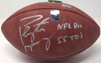 "PEYTON MANNING Autographed Inscribed ""NFL Rec 55 TD's"" NFL Football FANATICS"