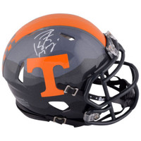 PEYTON MANNING Tennessee Volunteers Autographed Riddell Smoky Mountain Mini Helmet FANATICS