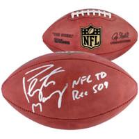 "PEYTON MANNING Autographed Inscribed ""NFL TD REC 509"" NFL Football FANATICS"