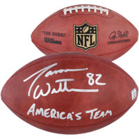 JASON WITTEN Dallas Cowboys Signed Americas Team Authentic NFL Football FANATICS
