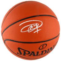 JOEL EMBIID Philadelphia 76ers Autographed Spalding Basketball FANATICS