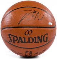 DAMIAN LILLARD Autographed Spalding Basketball PANINI