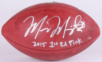 MARCUS MARIOTA Autographed / Inscribed Authentic NFL Football STEINER LE 8