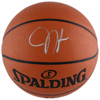 JAMES HARDEN Houston Rockets Autographed Indoor/Outdoor Basketball FANATICS