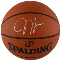 JAMES HARDEN Houston Rockets Autographed Spalding Official NBA Game Basketball FANATICS