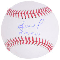 "JOSE ALTUVE Houston Astros Autographed ""17 AL MVP"" Official Baseball FANATICS"