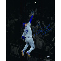 "CODY BELLINGER Autographed ""The Catch"" 16 x 20 Photograph Dodgers FANATICS"