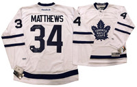"AUSTON MATTHEWS Autographed ""2016 #1 Pick"" Maple Leafs Jersey FANATICS LE 34"