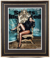 "SERENA WILLIAMS Signed Framed ""Sportsperson Of The Year"" 16 x 20 Photo UDA LE 25"
