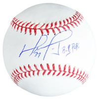 """DAVID ORTIZ Autographed Boston Red Sox """"Big Papi"""" Baseball FANATICS"""
