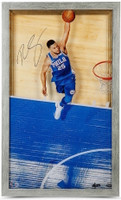 "BEN SIMMONS Autographed ""Great From Above"" Framed acrylic Display UDA LE 125"
