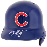 KRIS BRYANT Autographed Chicago Cubs Autographed Batting Helmet FANATICS