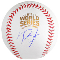 KRIS BRYANT Autographed Official 2017 World Series Baseball FANATICS