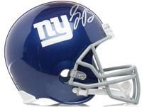 SAQUON BARKLEY Autographed New York Giants Full Size Helmet PANINI