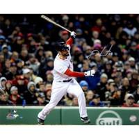 "J.D. MARTINEZ Autographed Red Sox ""Grand Slam"" 16"" x 20"" Photograph STEINER"