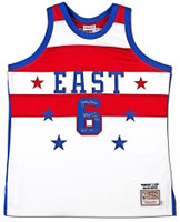 JULIUS ERVING Autographed / Inscribed 1980 All Star Authentic Jersey UDA LE 25