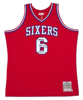 JULIUS ERVING Autographed / Inscribed 76ers 1982-83 Authentic Jersey UDA LE 25