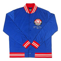"JULIUS ERVING Autographed ""Roots of Fight"" Authentic Stadium Jacket UDA LE 20"