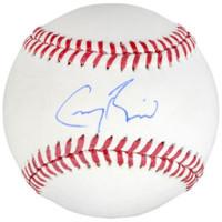 GREG BIRD Autographed New York Yankees Official Baseball FANATICS