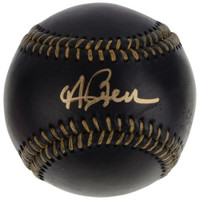 ANDREW BENINTENDI Autographed Boston Red Sox Black Leather Baseball FANATICS