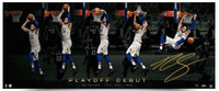 "BEN SIMMONS Autographed 76ers ""Playoff Jam"" 44 x 18 Photograph UDA LE 225"