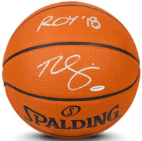 "BEN SIMMONS Signed & Inscribed 76ers ""ROY 18"" Authentic Basketball UDA LE 125"
