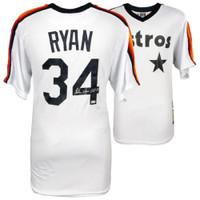 "NOLAN RYAN Autographed Houston Astros ""HOF 99"" Majestic Jersey FANATICS"