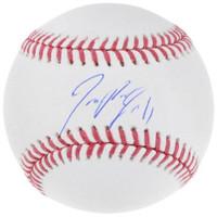 JOSE RAMIREZ Autographed Cleveland Indians Official MLB Baseball FANATICS