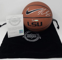 BEN SIMMONS Autographed LSU Tigers Basketball UDA LE 1/25