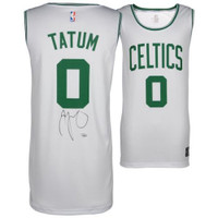 JAYSON TATUM Boston Celtics Autographed White Fastbreak Jersey FANATICS