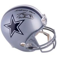 "JASON WITTEN Autographed ""Americas Team"" Dallas Cowboys Helmet FANATICS"