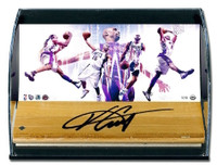"VINCE CARTER Autographed ""Vinsanity"" Game Used Curve Display UDA LE 15"