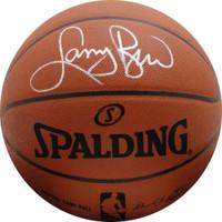 LARRY BIRD Boston Celtics Autographed Spalding Authentic Basketball - FANATICS