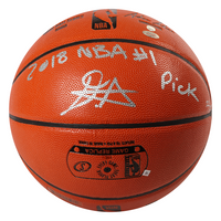 "DEANDRE AYTON Autographed and Inscribed ""2018 NBA #1 Pick"" Game Ball Series Spalding Basketball - Limited Edition of 22 - GAME DAY LEGENDS & STEINER"