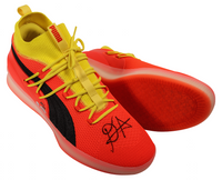"DEANDRE AYTON Autographed and Inscribed ""2018 NBA #1 Pick"" Puma Clyde Court Disrupt Size 16 Shoes - Limited Edition of 22 - GAME DAY LEGENDS & STEINER"