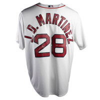 """J.D. MARTINEZ Autographed/Inscribed """"2018 WS Champs"""" Boston Red Sox White Home Jersey STEINER"""