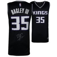 MARVIN BAGLEY III Autographed Sacramento Kings Black Fastbreak Jersey FANATICS