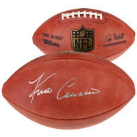 KIRK COUSINS Minnesota Vikings Autographed Official NFL Duke Pro Football FANATICS