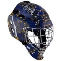 MARTIN BRODEUR Autographed St. Louis Blues Hockey Goalie Mask FANATICS