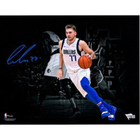 "LUCA DONCIC Autographed Dallas Mavericks 11"" x 14"" Spotlight FANATICS"